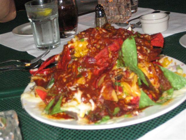 Green Street - Pasadena nachos