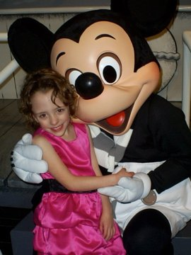 disneyland - ava and mickey