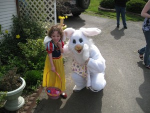 easter ava and bunny