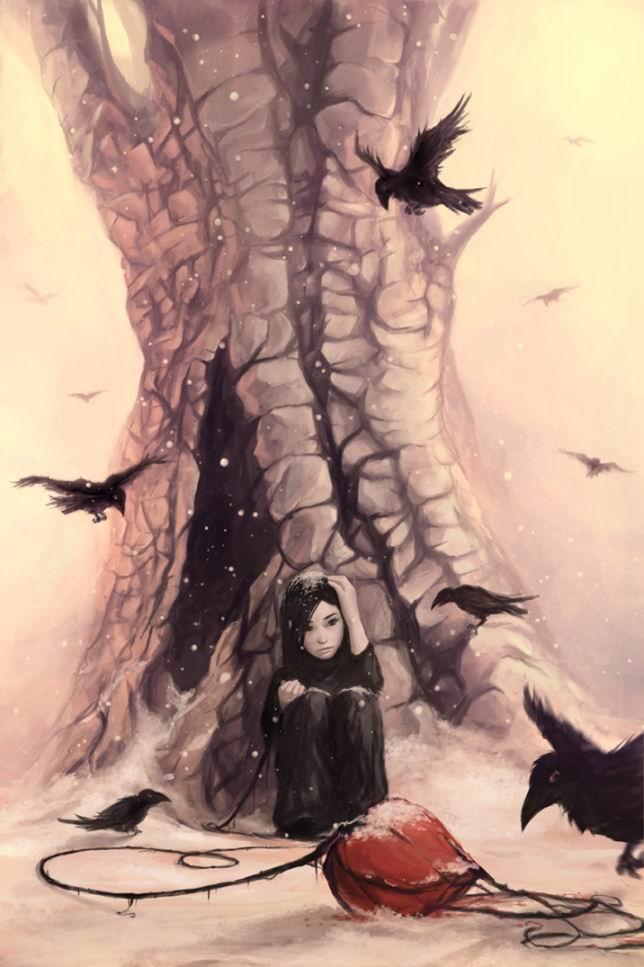 feeding_the_crows