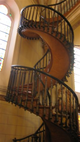 Santa Fe, NM June 2010 235staircase
