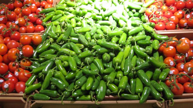 Jalapenos at the Grocery Store! A heavenly sight!