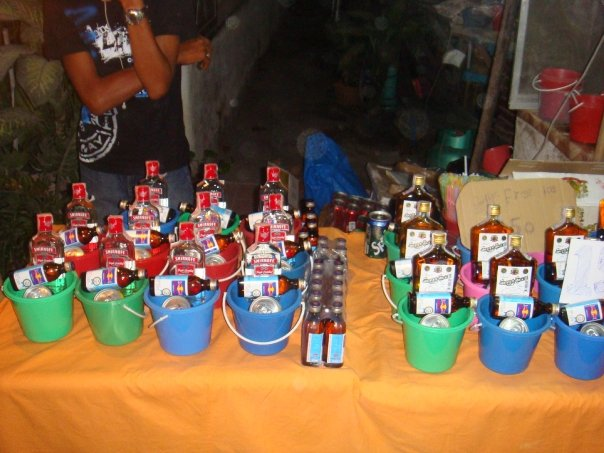 full moon party buckets