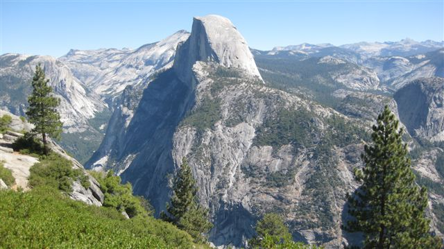 View of Half Dome when we first arrive! So Ugly! :)