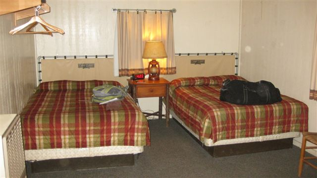 First Class Accomodations! Bed Bugs Included!