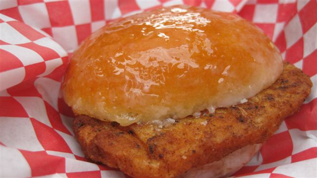 Krispie Kreme Chicken Sandwich!