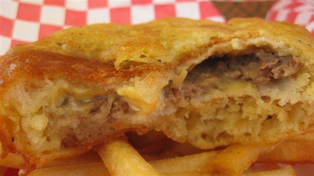 Deep Fried White Castle Burger!