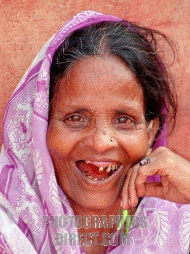 Toothless smile   (INDIA)