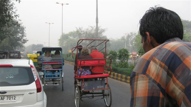 Life in India can best be experienced on a tuk tuk. It may be one's LAST experience...