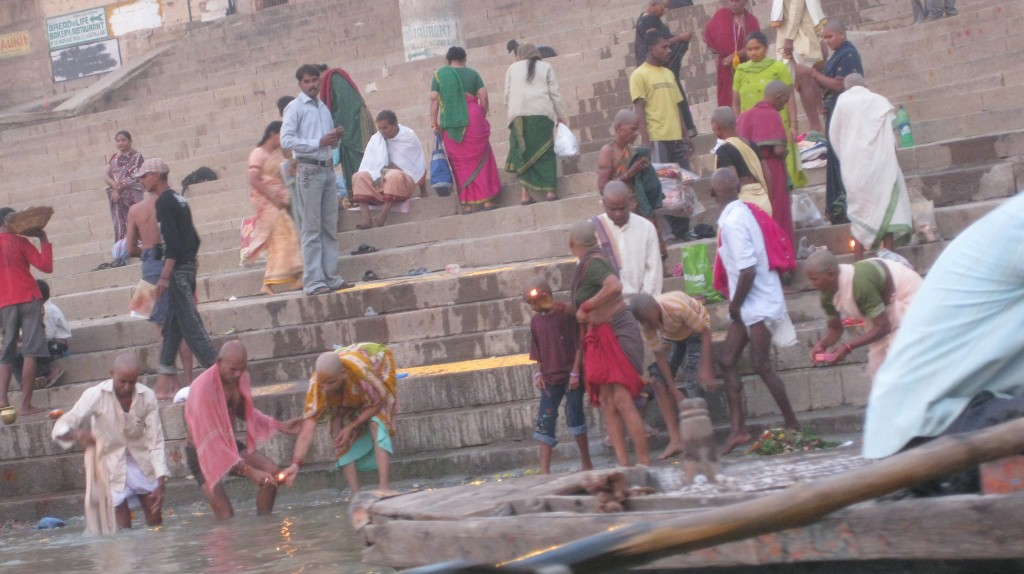 Bathtime! The Ganges is 97% Feces, which means great for the complexion as well as population control.