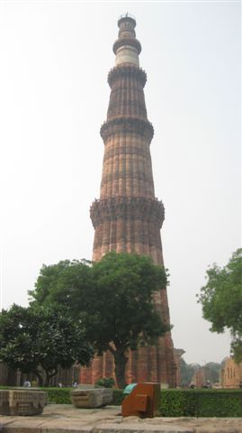 Qutab Minar - Tower build in the 1100's