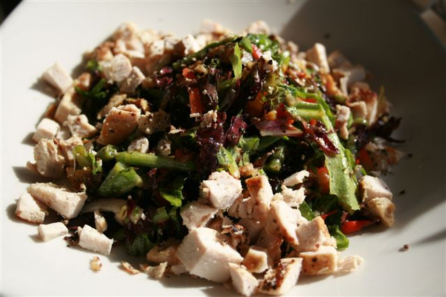 Vegetariano Salad (with chicken)