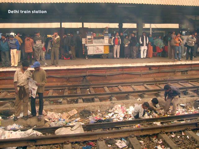 111 india train station