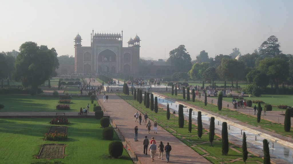 The Entrance to the Taj