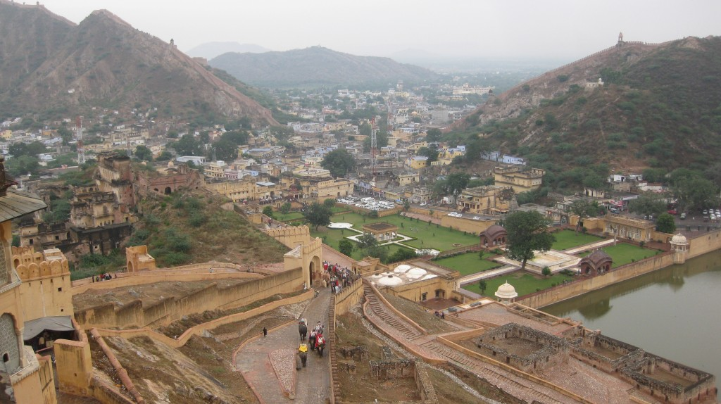 Jaipur, the Pink City.