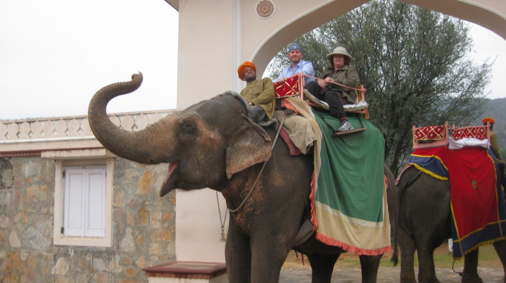 Elephant ride...obviously...