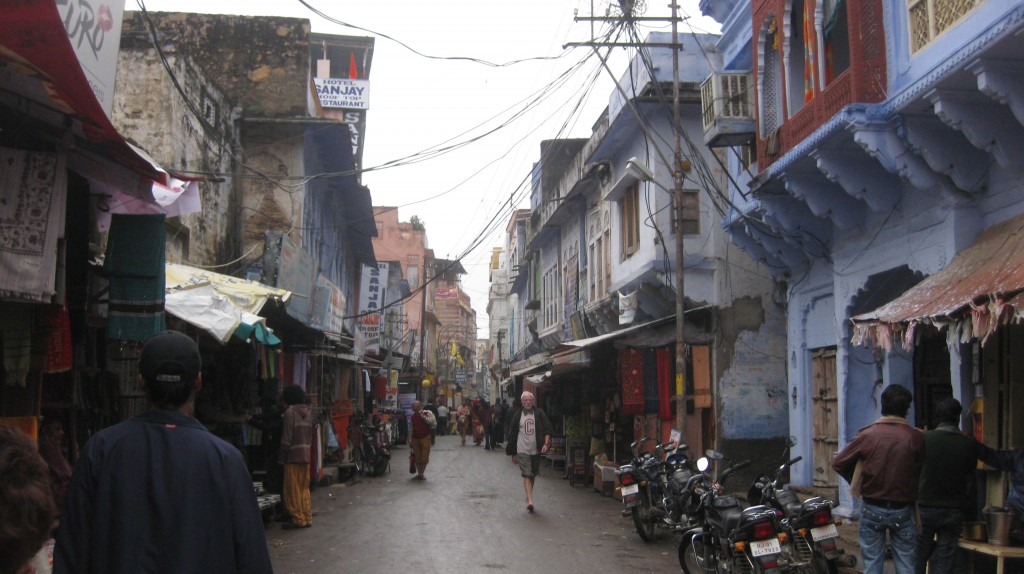 The streets of Pushkar. Or pretty much any city in India. Are we done yet??