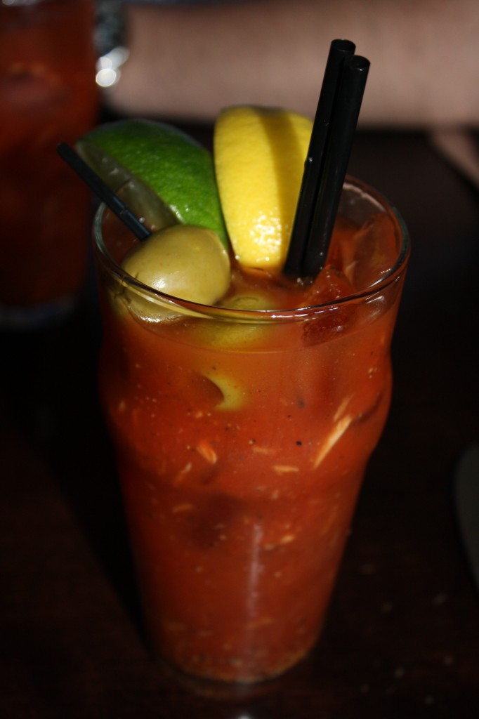 Bloody Mary (should have been called a Horseradish Harry)