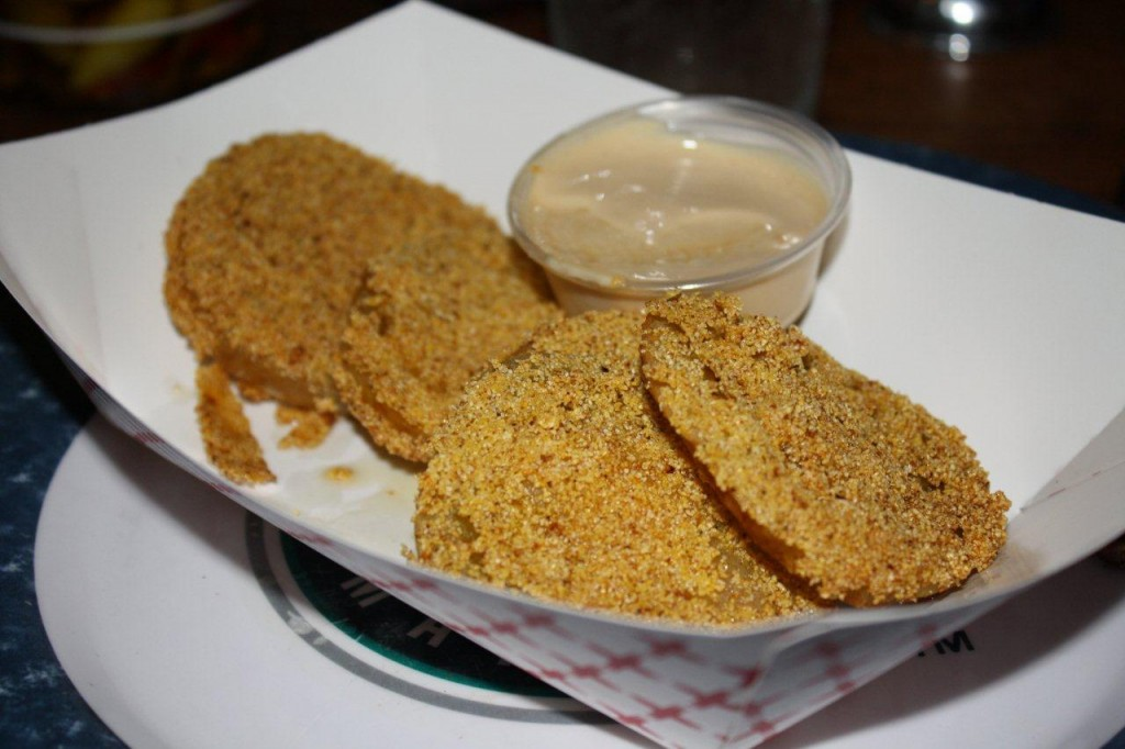 Fried Green Tomatoes! Just like Idgy Threadgood used to make!