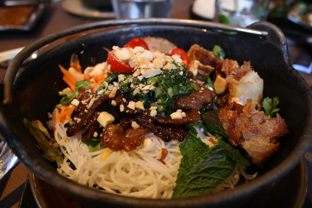 Grilled Short Rib over Rice Vermicelli