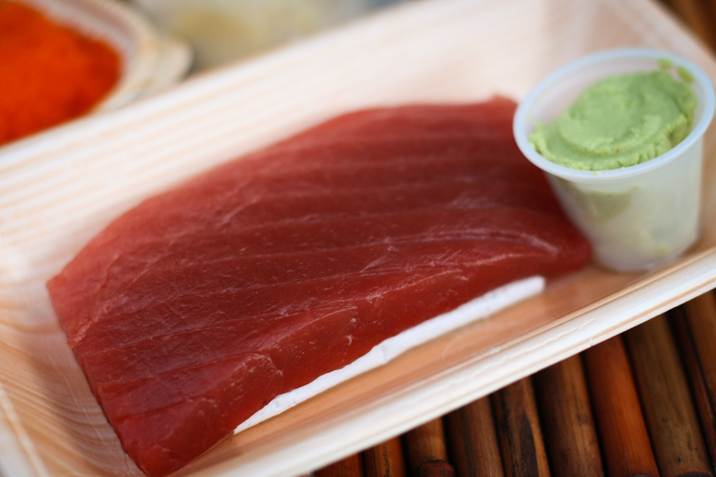 Bun boy eats la sunday supper spicy tuna on crispy rice for Sashimi grade fish near me