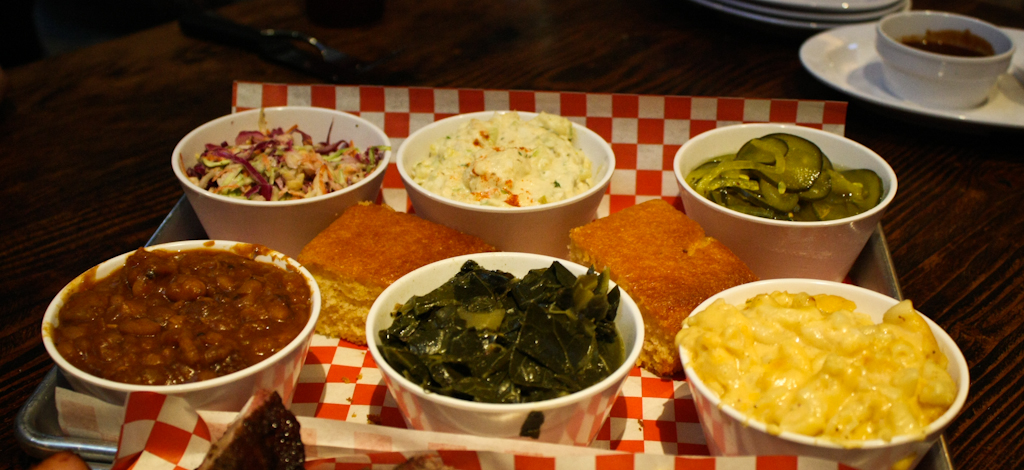 I loved all the sides! Standouts were the mac and cheese, collard greens and baked beans.