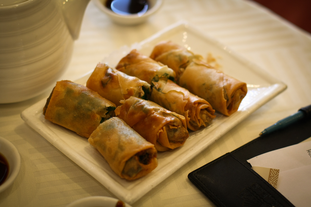 Crispy Egg Roll