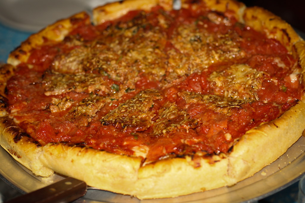 "Large ""Lots of Meat"" Chicago Deep Dish"