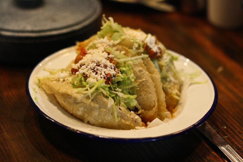 Puffy Tacos - Carne Guisada
