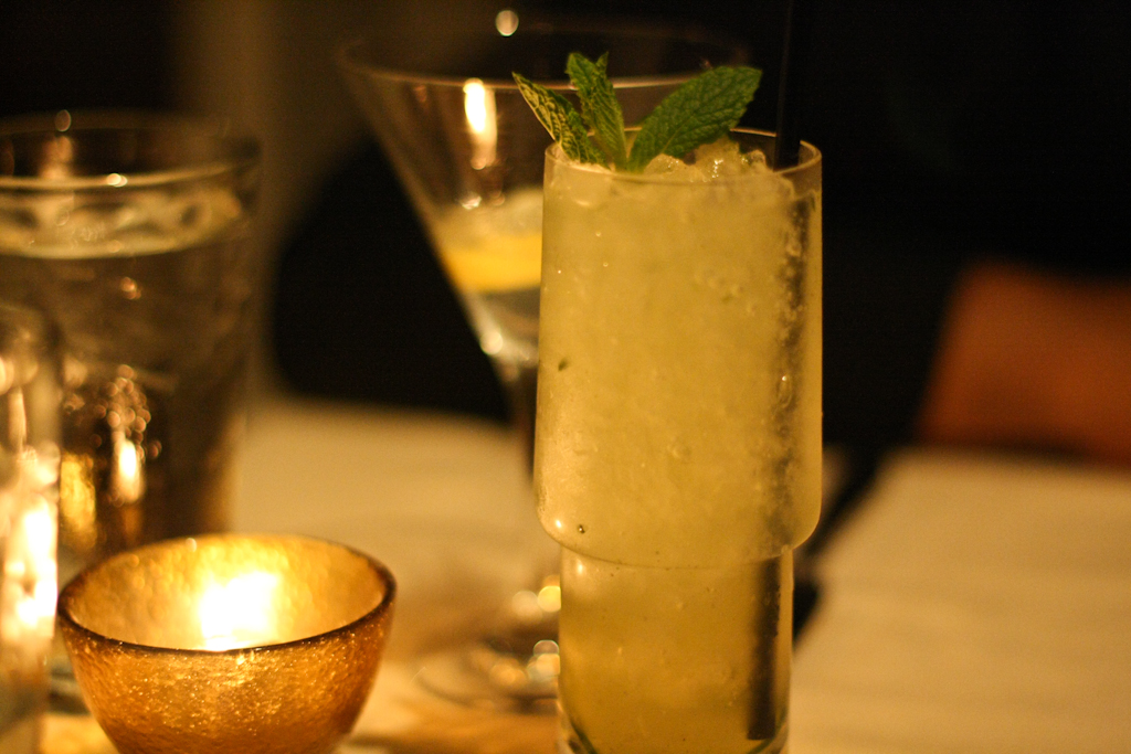 Mint Cucumber Smash - ketel one vodka, english cucumber