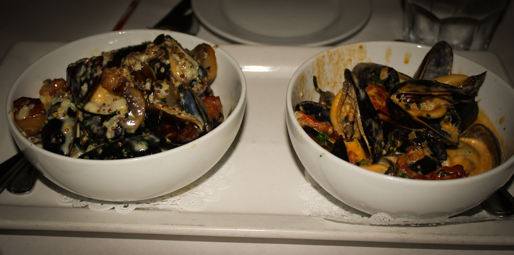 Mussels - Moutarde Acienne & Bisque