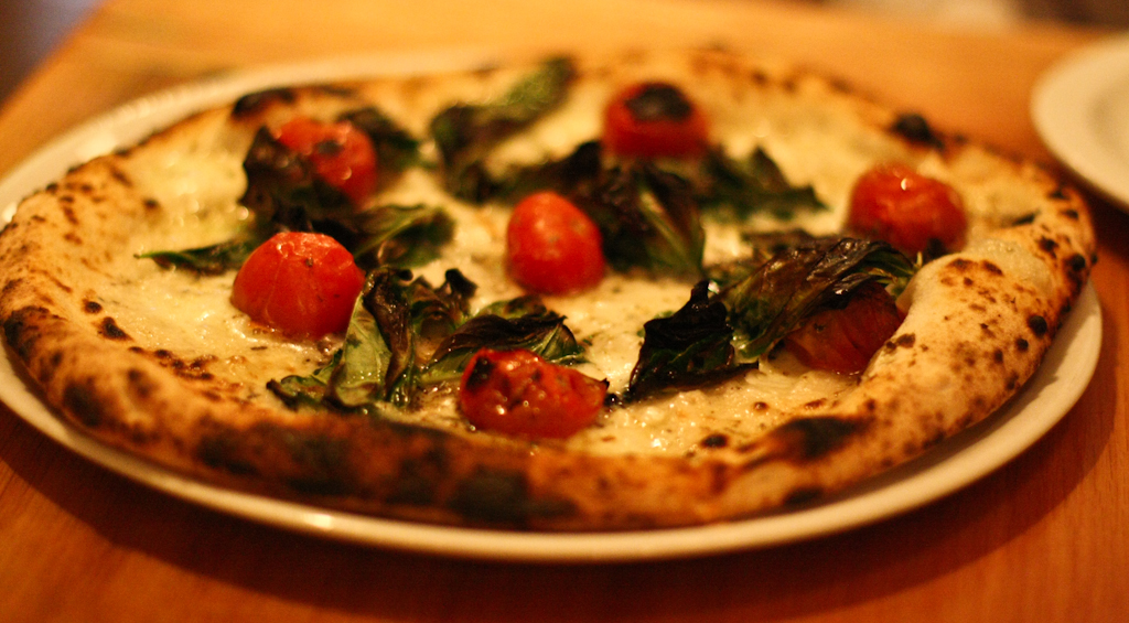 Oven Roasted Vine Tomato Pizza