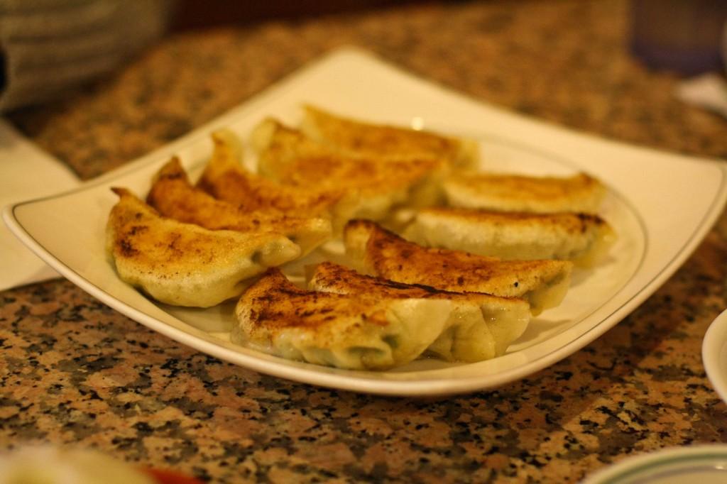 #8 - Fried Dumpling with Shrimp and Pork