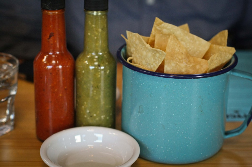 Chips and Salsa (complimentary)