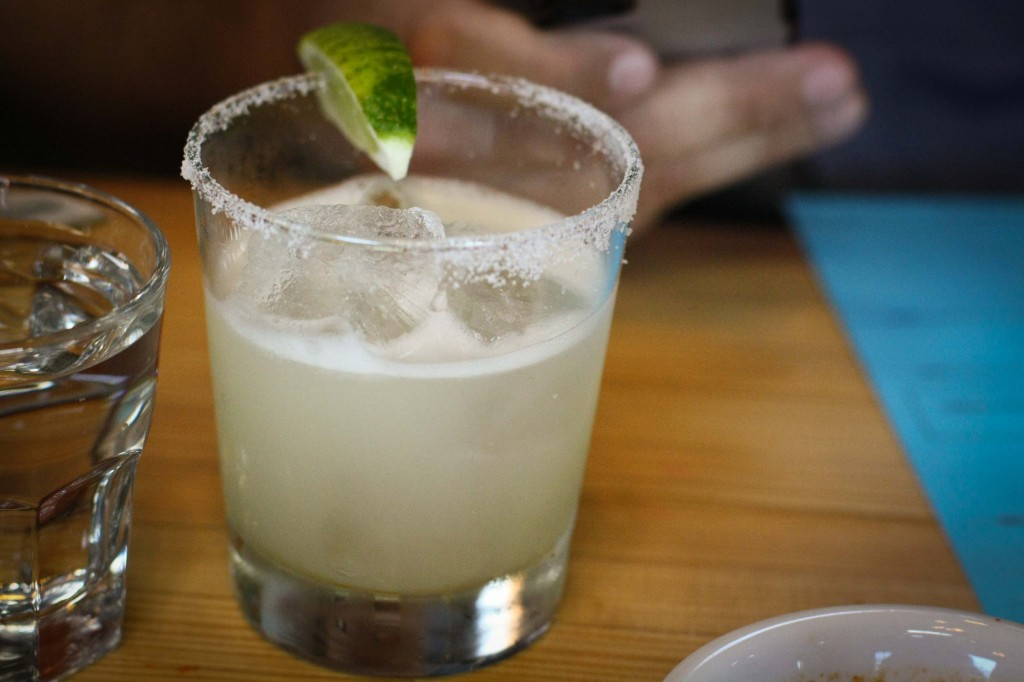 Petty Cash Margarita (not a trace of sweet and sour mix, thankfully)