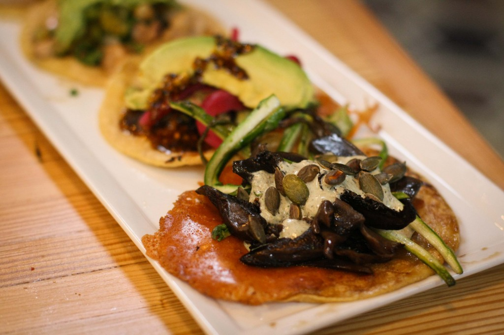 Charcoal-Roasted Portobello Mushroom Taco