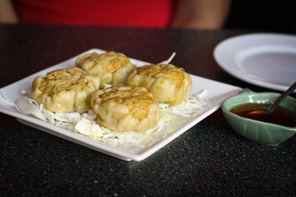 Thai Dumpling - steamed with ground chicken and shrimp