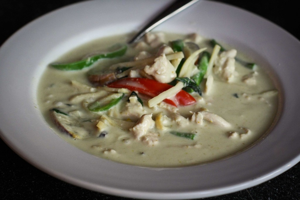 Green Curry - Homemade, apparently.