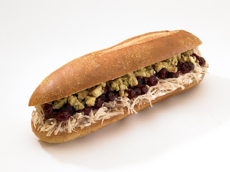 Capriotti's Bobbie - Thanksgiving Sandwich