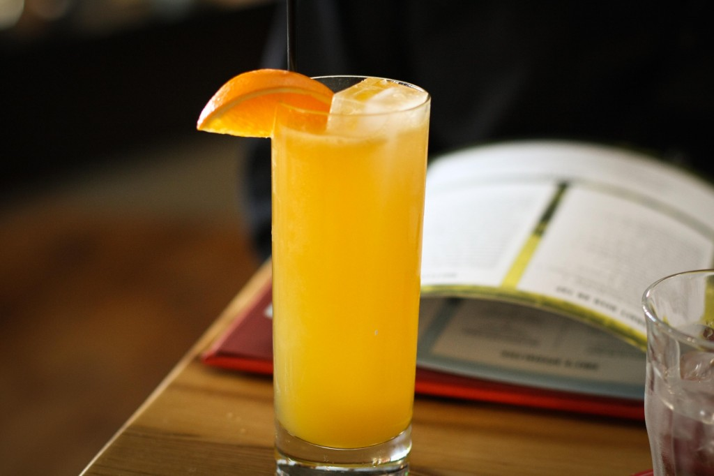 Narragansett Cooler | bourbon, orange juice, ginger ale