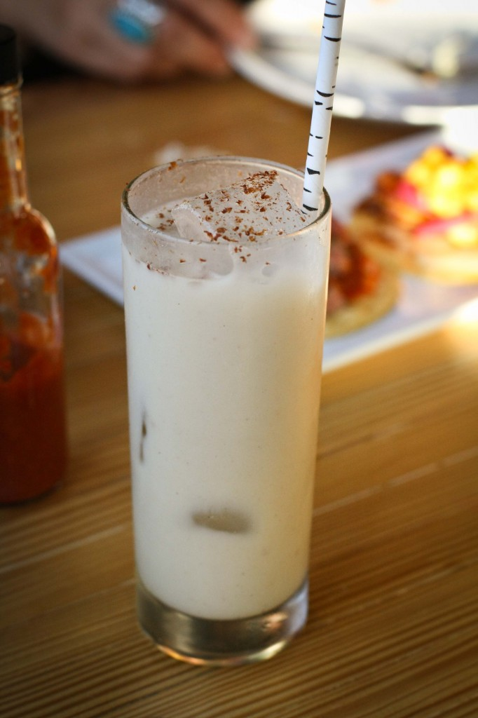 """Dirty"" Horchata - Toasted line grain brown rice, Chinese cinnamon, Almond milk (non-alcoholic)"