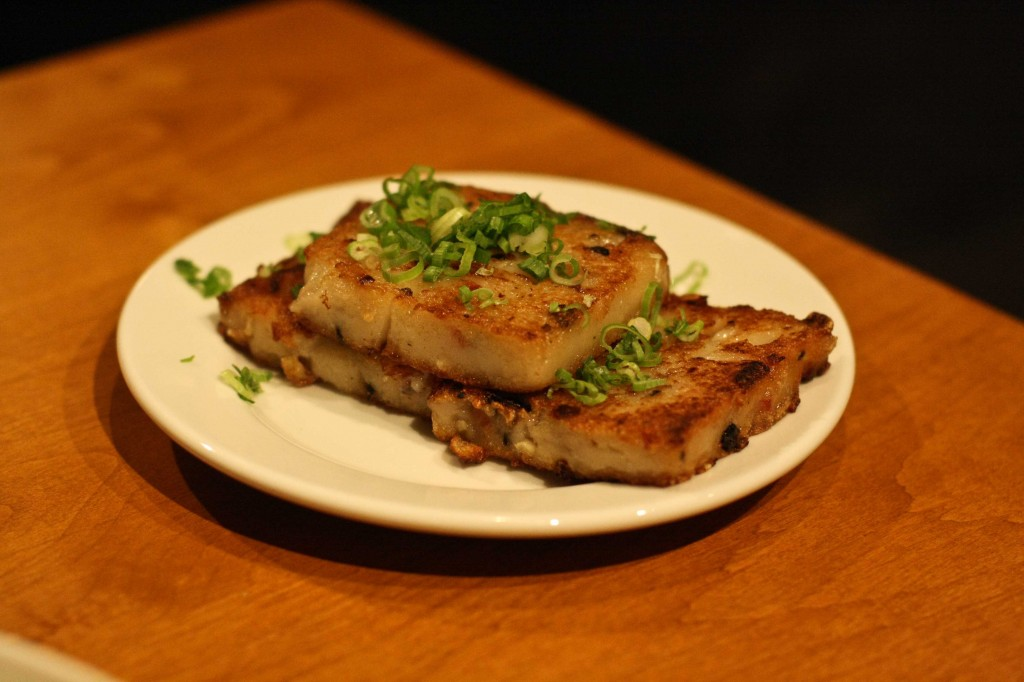 Radish Cake with Chinese Sausage