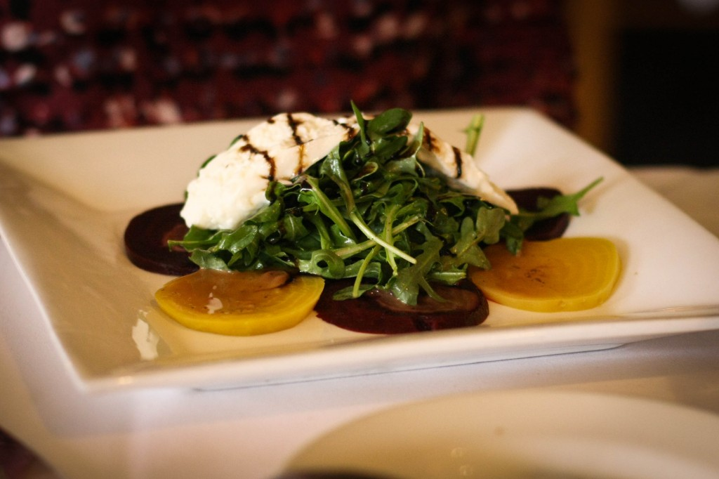 INSALATA DI BARBABIETOLE E BURRATA - Beet and Burrata Salad