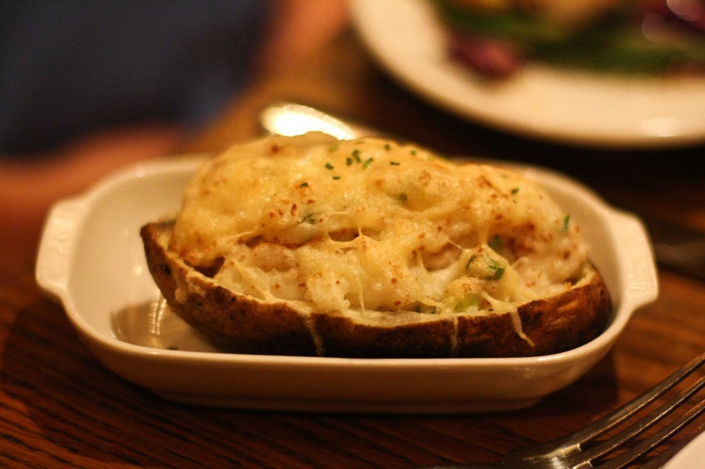 Twice Stuffed Potato