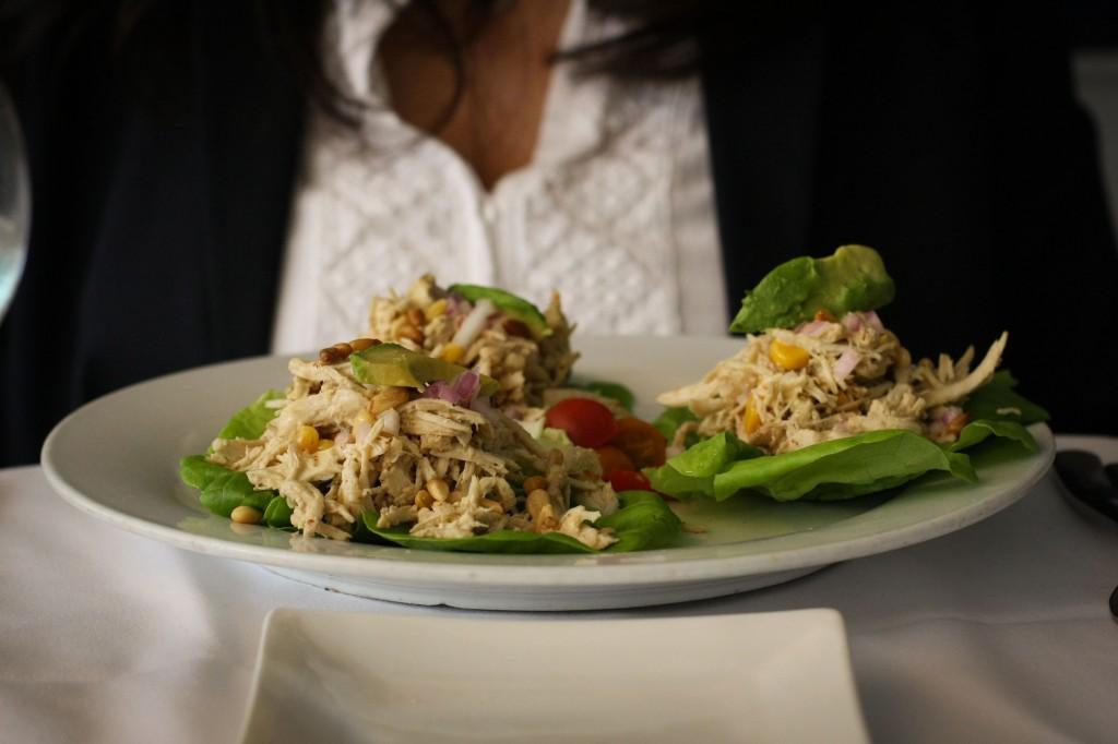 Char-Grilled Chicken Salad