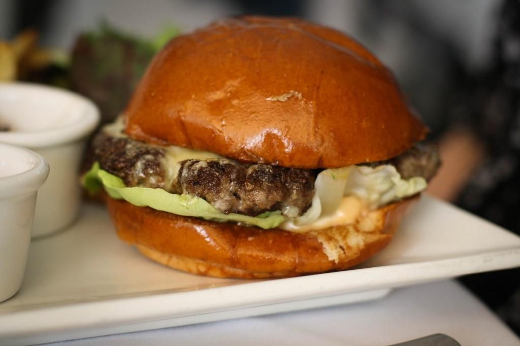 The Villa Blanca Burger