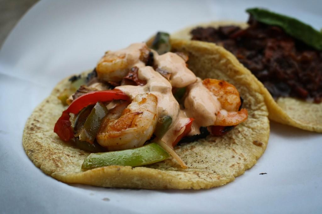 Camarones (Shrimp) Taco