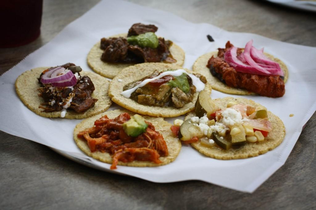 6 Taco Sampler