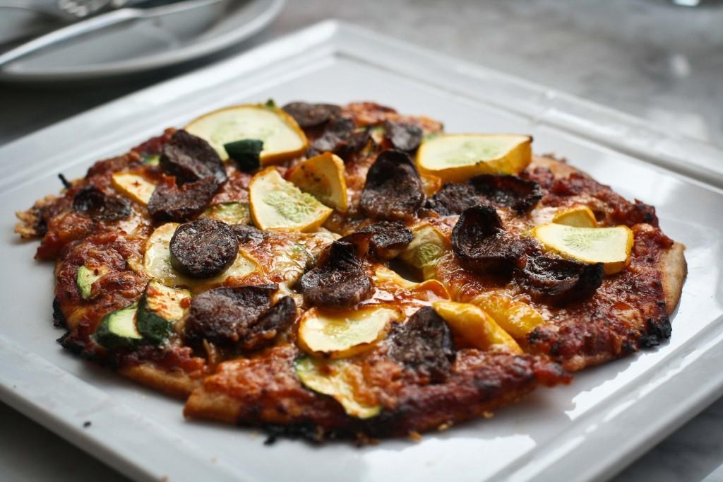 Merguez Sausage Pizzetta
