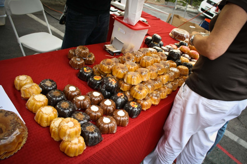 Bundt Cakes at the Farmers Market